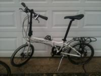 Up for sale is my Dahon Formula S18 folding bike, Some