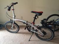 I am selling a very cool high performance 9 speed Dahon