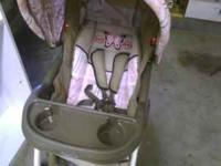 Stroller shown and matching carseat(not pictured)