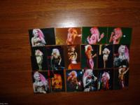 Dale Bozzio of Missing Persons color concert 4x6 photo