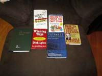 Set of 6 books. Good condition. First come, first