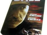 Dale Earnhardt Collector 6 DVD Set IN COLLECTOR TIN