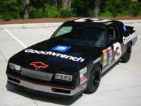 This is a replica of Dale Earnhardt's # 3 race car. It