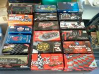 I have 18 Dale Sr. 1/24 Die Cast Cars for sale; all in