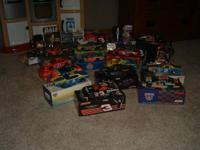 I have Dale Earnheardt die cast cars and more for