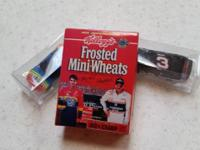 Dale Earnhardt and Jeff Gordon Frosted Mini-Wheats