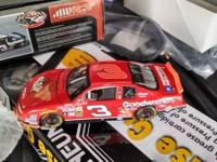 Hello there I got 2 Dale earnhardt die cast cars. First