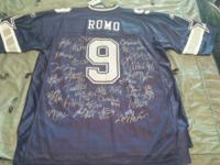 Dallas Cowboys NFL JERSEY 9 Tony Romo. Authentic