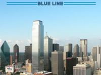 Dallas Blue Line Train Business Directory buddy guide