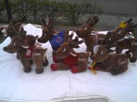 I have all 7 reindeer by Dan Dee Collecotr's Choice.