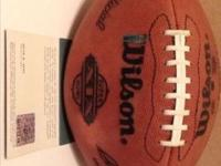 Hall of Fame Miami Dolphins QB Dan Marino autographed