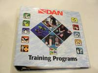 This is a barely used DAN Training Programs reference