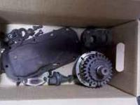 This is a Dana 300 transfer case. It is partially torn