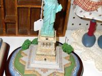 This wonderful figurine of the Statue of Liberty was