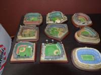 I have 14 stadiums, football and baseball for sale