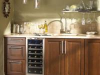 "Danby Silhouette Series DWC1534BLS 15"" Built-in Wine"