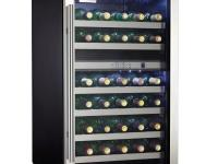 The Danby free-standing wine cooler is a simple and