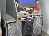 Commercial Dance Dance Revolution, full sized coin