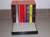8 Danielle Steel hardcover books in a presentation