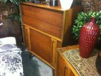Danish Modern Bedroom high dresser from Lane. Truly
