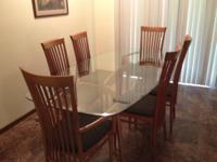 BEAUTIFUL DANISH MODERN DINING SET. NEW CONDITION--