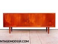 Incredible Teak Sideboard by H.P. Hansen circa 1960's.