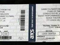 Hello, I am selling a pair of tickets to the Danny