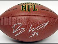 Featured is a Wilson Football (same size as used in NFL