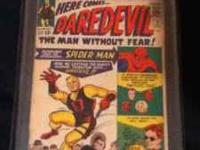 I have a Daredevil #1 made in 1964 and was graded threw