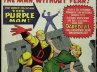 DAREDEVIL# 4 Oct 1964 1st Killgrave the Purple Man