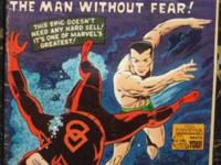 DAREDEVIL# 7 Apr 1965 1st Red Costume Sub-Mariner Wood