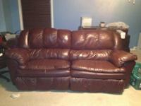 This is a couch and love seat made by Ashley. It is in