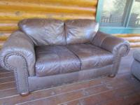I have Love seat and Sofa distressed dark brown