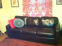 Large comfortable sectional for sale. In excellent