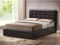 WI #20100 Dark Brown Storage Platform Bed TWIN $289.99,