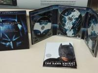 perfect condition, blu-ray The Dark Knight trilogy,