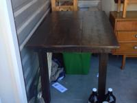 Dark oak Kitchen table. $900.00 OBO. All Items have to