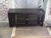 Dark oak tv cabinet in very clean like new condition.