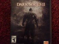 Dark Souls II for sale. Barely used. $20.00. Call/ text