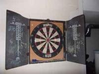 Dart Board comes with Base and 2 different boards..