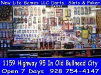 Dart Boards, Dart Supplies, & Much more.  We carry a