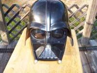 i have 2 darth vader helmets 1 is plain that can be
