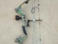 Darton Terminator compound hunting bow- used only two