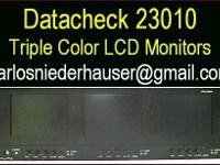 Datacheck 23010 triple bank rackmount LCD color