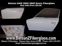 Datsun 240Z 260Z 280Z Doors (complete shell) New-