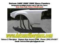 Datsun 240Z 260Z 280Z Race Car Fenders w / Integrated
