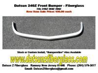 Datsun 240Z Front Bumper- Fiberglass. New Item Now On
