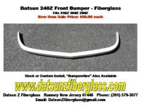 Datsun 240Z Front Bumper- Fiberglass New Item Now On