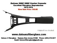 Datsun 260Z 280Z Center Console NEW. Excellent