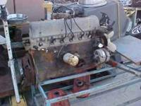 This is a complete motor including Carburators, starter
